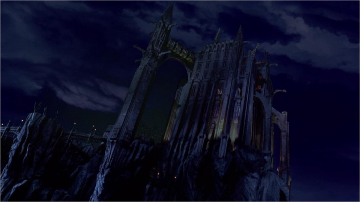 L'asile d'Arkham à Gotham City