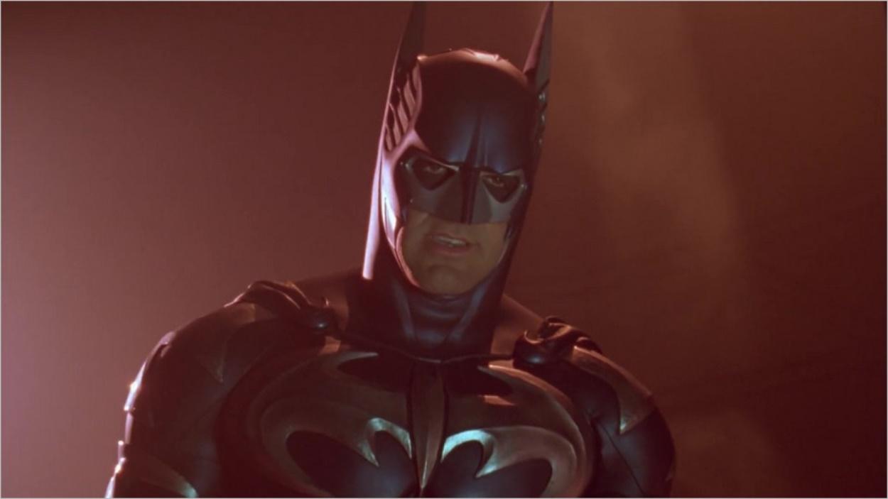 George Clooney dans le costume de Batman