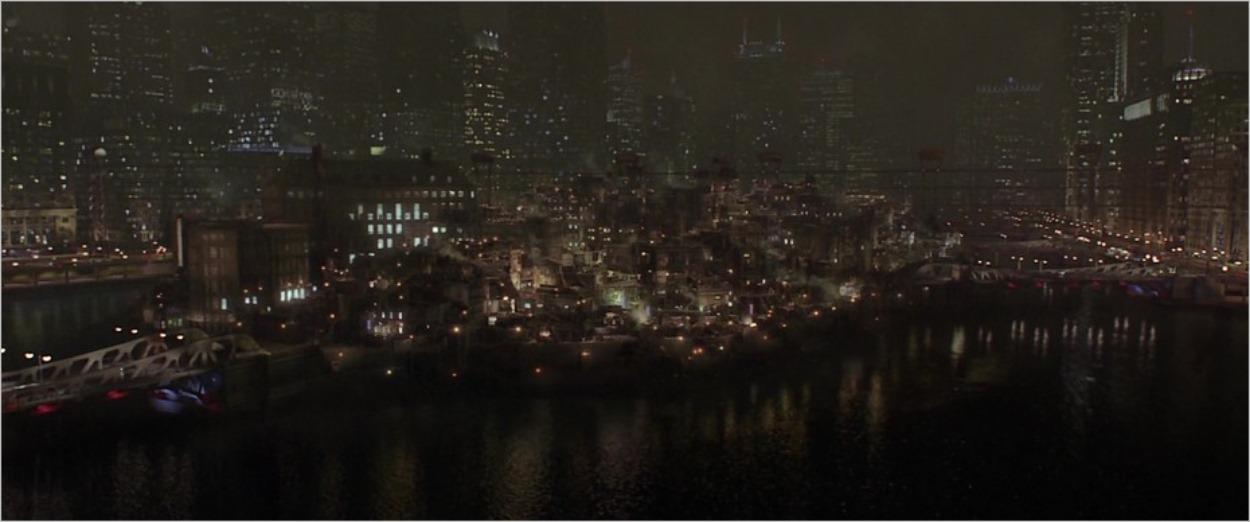 Gotham City selon Christopher Nolan