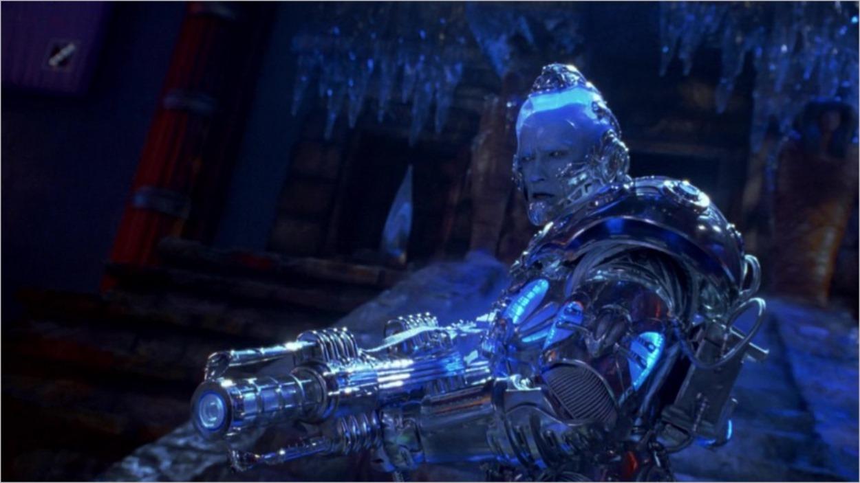 Mister Freeze armé dans Batman et Robin