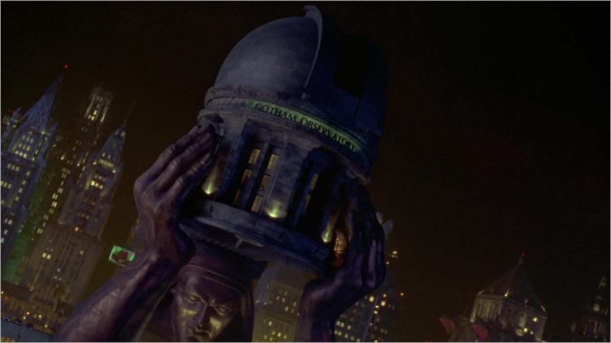 L'observatoire de Gotham City