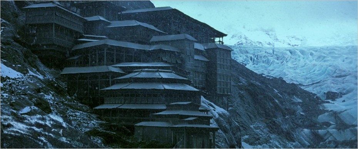 Le fief de Ra's Al Ghul, où Bruce Wayne se forme aux techniques de ninja