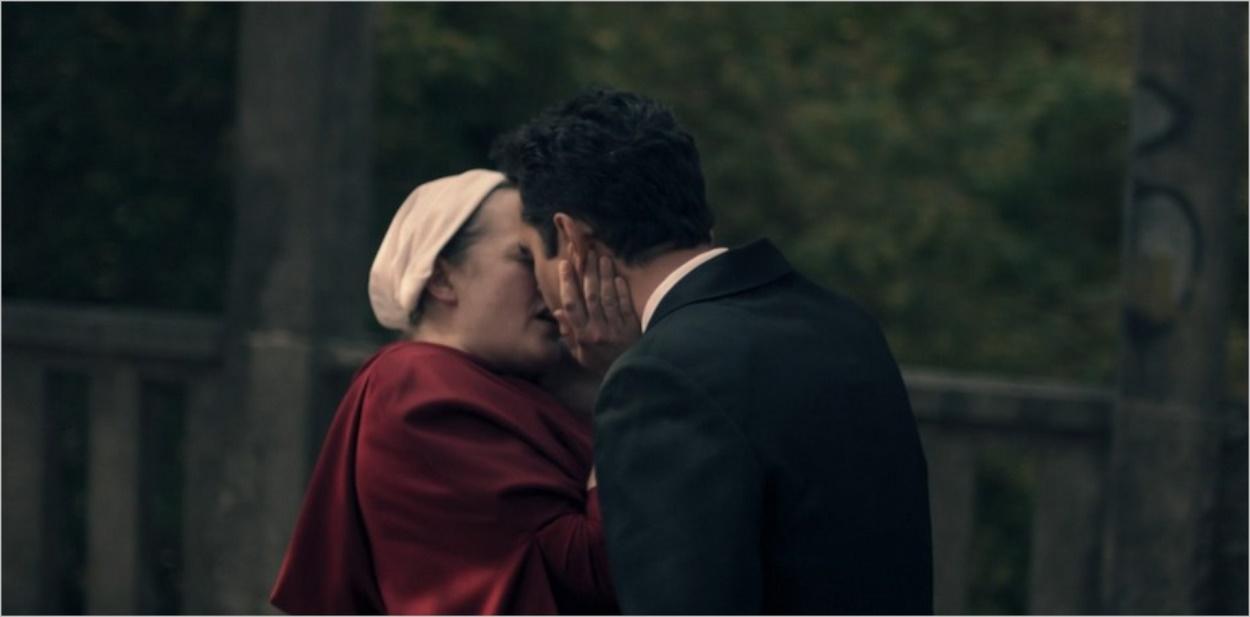 Instant d'amour entre June et Nick - The Handmaid's Tale saison 4