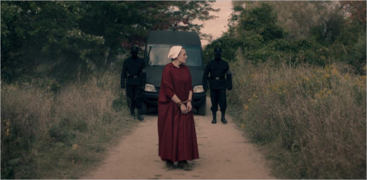 June conduite en pleine nature - Saison 4 épisode 3, The Handmaid's Tale