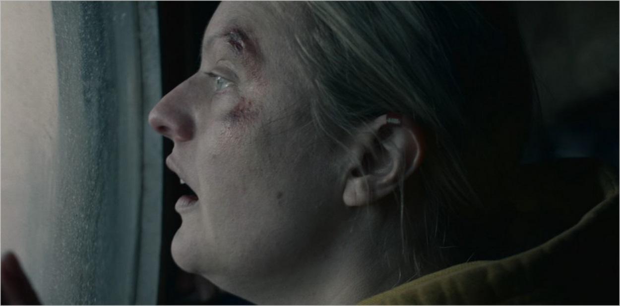 June lors de son évasion de Gilead dans la saison 4