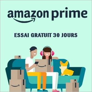 Essai gratuit Amazon Prime